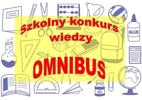 Szkolny konkurs wiedzy Omnibus