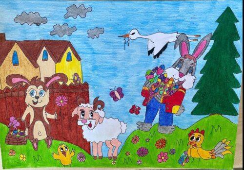 Wielkanoc prace uczniów